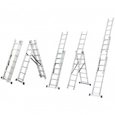 Лестница раскладывающаяся универсальная 12 ступенек Sigma (5032354) SIGMA