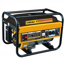 Генератор бензиновий 3.2/3.5 кВт 4-х тактний, ручний запуск Sigma (5710261) SIGMA
