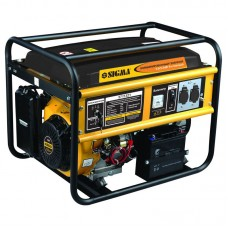 Генератор газ/бензин Sigma 5.0/5.5 кВт 4-х тактний електрозапуск (5711321) SIGMA