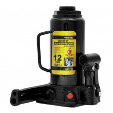Домкрат гідравлічний пляшковий Sigma 12т H 230-465мм (6101121) SIGMA