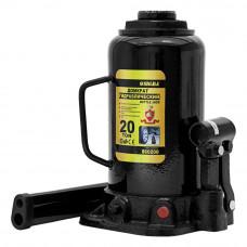 Домкрат гідравлічний пляшковий Sigma 20т H 242-452мм (6101201) SIGMA