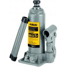 Домкрат гидравлический бутылочный mid 3т H 180-350мм Sigma (6105031) SIGMA