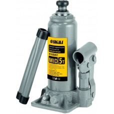 Домкрат гидравлический бутылочный mid 5т H 185-355мм Sigma (6105051) SIGMA