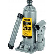Домкрат гідравлічний пляшковий mid 5т H 185-355мм Sigma (6105051) SIGMA