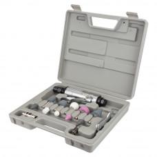 Шлифмашинка прямая пневматическая с аксессуарами в кейсе 25000об/мин Sigma (6732851) SIGMA