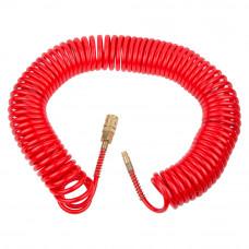 Шланг спиральный полиуретановый (PU) армированный 15м 5.5×8мм Refine (7013431) SIGMA