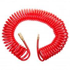 Шланг спіральний поліуретановий (PU) армований 15м 8×12мм Refine (7013531) SIGMA