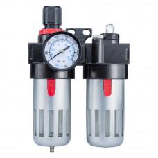 Блок подготовки воздуха (фильтр, редуктор, манометр, маслообогатитель ) Sigma (7034021) SIGMA