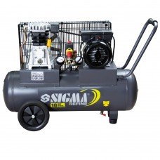 Компресор ремінною двоциліндровий 2кВт 385л/хв 10бар 50л Sigma Refine (7044021) SIGMA