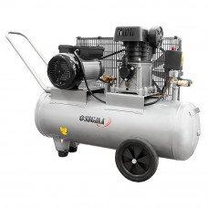Компресор двоциліндровий ремінною 2.5 кВт 335л/хв 10бар 50л (2 крана) Sigma (7044121) SIGMA