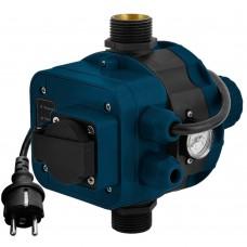 Контроллер давления электронный 1.1кВт Ø1 + розетка Katran (779756) SIGMA