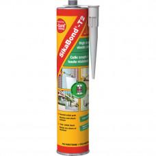 SikaBond®-T2 полиуретановый профессиональный клей белый 300 мл SIKA (82681)