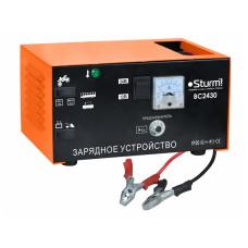 Пуско-зарядний пристрій Sturm 12-24В, 60-300Ач BC2430