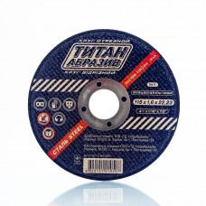 Отрезной диск по металлу Титан Абразив 115 х 1.0 х 22.23 TITAN (ТА1151022)