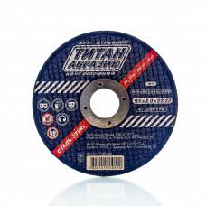 Отрезной диск по металлу Титан Абразив 115 х 2.0 х 22.23 TITAN (ТА1152022)