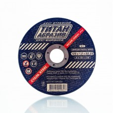 Отрезной диск по металлу Титан Абразив 125 х 1.2 х 22.23 TITAN (ТА1251222)