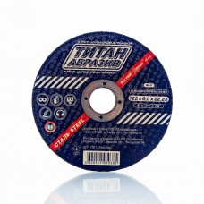 Шлифовальный диск по металлу Титан Абразив 125 х 6.0 х 22.23 TITAN (ТА1256022)