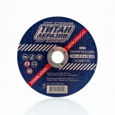 Отрезной диск по металлу Титан Абразив 150 х 2.0 х 22.23 TITAN (ТА1502022)