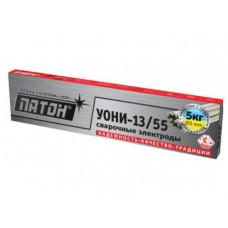 Электроды ПАТОН УОНИ-13/55, 3 мм, 5 кг Патон (20509392)