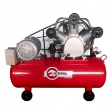 Компрессор 300 л, 20 HP, 15 кВт, 380 В, 8 атм, 2000 л/мин. 3 цилиндра INTERTOOL PT-0052