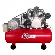 Компресор 300 л, 20 HP, 15 кВт, 380 В, 8 атм, 2000 л/хв. 3 циліндра INTERTOOL PT-0052