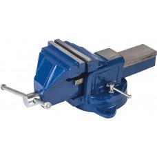 Тиски слесарные поворотные Miol 125 мм (36-300) MIOL