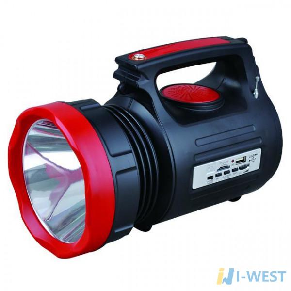 Ліхтар акумуляторний 1LED 5W 22 SMD INTERTOOL LB-0104