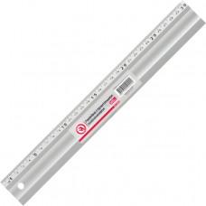 Лінійка будівельна алюмінієва 300мм INTERTOOL МТ-2000 (MT-2000)