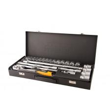 Набор ключей и насадок торцевых MasterTool (78-4124)