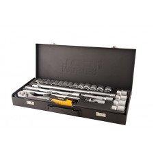 Набір ключів і насадок торцевих MasterTool (78-4124)