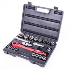 Профессиональный набор инструмента 21 ед. INTERTOOL ET-6021