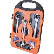Набір ключів комбінованих з тріскачкою MIOL (52-250)