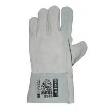 Перчатка Крага без подкладки серая SFG40032 (69013) Перчатка-центр