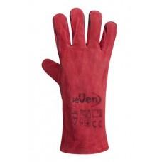 Перчатка Крага на подкладке красная длинная SP69245 (69246) Перчатка-центр