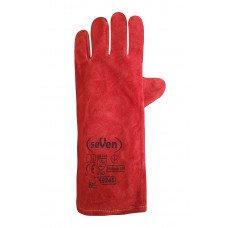 Рукавиця Крага на підкладці червона довга SP69245 (69246) Перчатка-центр