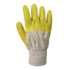 Перчатки рабочие оранжевые с покрытием WV-1002 (69421) Перчатка-центр