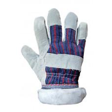 Перчатки рабочие комбинированные БП/спилок утепленные (69469) Перчатка-центр