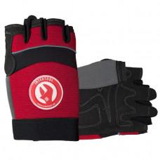 Перчатка Microfiber без пальцев, вставки спандекса и неопрена, эластичный манжет на липучке, 10 INTERTOOL (SP-0142)