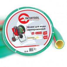 Шланг для воды 4-х слойный 1/2 INTERTOOL (GE-4105)