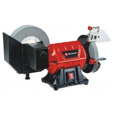 Верстат точильний TC-WD 200/150, 250 Вт, диск сухої заточки 150 мм, диск вологої заточки 200 мм, вологе/сухе заточування (4417242) Einhell