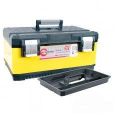 Ящик для инструментов с металлическими замками, 21 INTERTOOL (BX-2021)