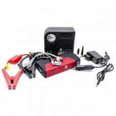 Набір пускозарядний пристрій універсальне 16800 маг і міні компресор INTERTOOL AT-3010