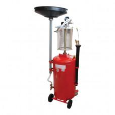 Установка вакуумная для слива масла INTERTOOL GT2100