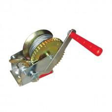 Лебідка важільна барабанна сталевий трос 450 кг INTERTOOL GT1454