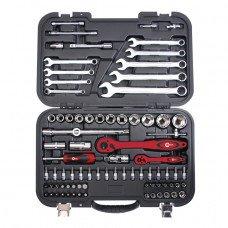 Професійний набір інструментів 1/2 INTERTOOL (ET-6082)