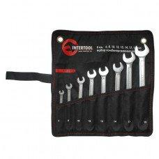 Набор комбинированных ключей 8 шт. INTERTOOL XT-1002