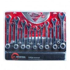 Набор комбинированных ключей 15 шт. INTERTOOL XT-1514