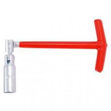 Свічковий ключ Т-подібний з шарніром 16х250 мм INTERTOOL HT-1717