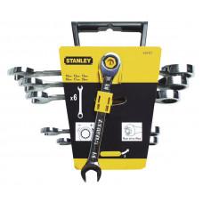 """Набор комбинированных ключей с трещоткой """"MaxiDrive Plus"""" STANLEY 4-89-907"""
