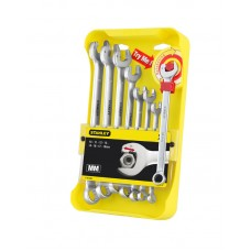 """Набір комбінованих ключів """"Ratcheting Wrench"""" STANLEY 4-95-660"""